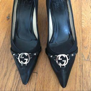 Vintage Gucci Kitten Heels